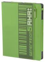aha Pixel für iPad 2 grün  Polyester, Portfolio für Apple iPad 2, pflegendes Innenmaterial, Innenmaße 25x19x1cm, 230g