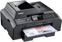 Brother MFC-J5910DW   USB2.0, PictBridge, LAN, WLAN, 64MB, 6000x1200dpi, 12 Seiten/Min. s/w (A4), 10 Seiten/Min. farbig (A4), 4.9cm LCD Touchscreen, Duplexdruck, 250 Blatt Papierzufuhr, 35 Blatt ADF