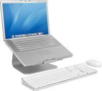 Rain Design mStand  Aluminiumstand, Rutschfeste Gummmifüße, rückseitige Kabelführung, für MacBook Pro bis 17' und Notebooks bis 26.5cm