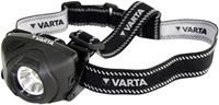 Varta Indestructible Headlight 1 Watt LED, 36/100 Lumen (Low/High), 100m Leuchtdauermax. 15h Leuchtdauer, 3x AAA