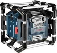 Bosch GML 20 Professional blau,  MP3, Radio, 20 Watt, AUX-In, USB, SD-Slot, Stossschutz