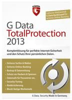 G Data TotalProtection 2013 3 PC 12 Monate,