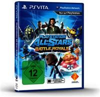 PlayStation All-Stars Battle Royale Sony PSV, Deutsche Version