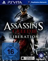 Assassins Creed 3: Liberation Assassins Creed III: Liberation Sony PSV, Deutsche Version