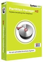 System GO! Partition Manager X2 Windows, deutsch