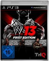 WWE 13 First Edition inkl.3 DLC Sony PS3, Deutsche Version