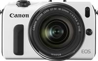 Canon EOS M Kit EF-M 18-55mm inkl. SpeedLite 90EX weiß