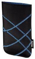 Hama MP3-Tasche Lift Sleeve für iPod touch 4G schwarz/blau