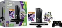 Microsoft Xbox 360 slim 250GB inkl. Kinect + Dance Central 2  ,