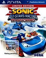 Sonic All-Stars Racing Transformed Limited Edition  , Sonic & All-Stars Racing Transformed Lim Sony PSV, Deutsche Version