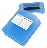LogiLink Festplatten Schutz-Box für 2x 2,5' HDD, blau