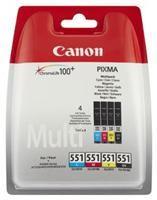 Canon CLI-551C/M/Y/BK MultiPack