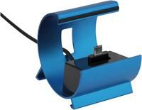Pedea Dockingstation Color-Docks microUSB blau,  fr Samsung S2/S3/ACE