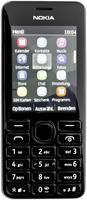 Nokia 206 Dual-SIM schwarz