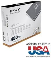 PNY XLR8 SSD 480GB MLC  ,