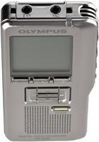 Olympus DS-2500 silber,  LCD, 5 Ordner für jeweils bis zu 200 Dateien, Vollduplex USB Mikro/- Lautsprecher, USB2.0, SD/SDHC Kartenslot (max.32GB), DSSPro Format, Editierfunktionen, Menü in sechs Sprachen,
