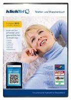 klickTel Telefon- und Branchenbuch Frühjahr 2013,