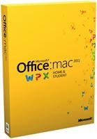 Microsoft Office 2011 Mac Home & Student DE für Mac 1 User Product Key Card