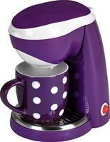 Efbe Schott TKG CM 1003 PWD 1-Tassenkaffeemaschine purple/weiß