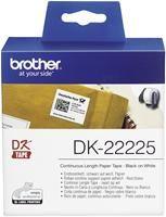 Brother DK-22225 30.5m Endlosetiketten,