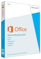 Microsoft Office 2013 Home and Buisness DE Windows,