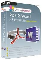 bhv PDF-2-Word X3 Premium Windows, deutsch