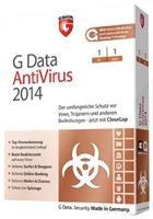 G Data AntiVirus 2014 3 PC 1 Jahr