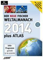 Fischer Weltalmanach & Atlas 2014  (DVD-Rom) Der neue Fischer Weltalmanach & Atlas 20 Deutsche Version