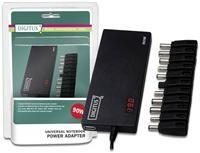 Digitus DA-10090 90 Watt,  Universalnetzteil für diverse Notebooks bis 90 Watt, 1x USB-Anschluss zum laden von Smartphones, Tablets etc.