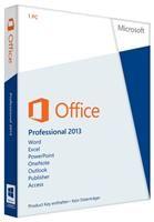 Microsoft Office Professional 2013 DE