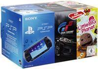 Sony PSP E-1000 inkl. Gran Turismo Essentials + Little Big Planet   Sony PSP E1000 inklusive Gran Turismo Es Sony PSP Zubehör, deutsch