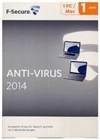 F-Secure Anti-Virus PC & MAC 2014