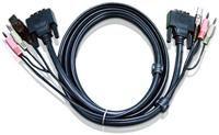 Aten 2L-7D02UD KVM-DVI Kabel 1.8m