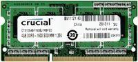 Crucial 4GB DDR3 SO-Dimm 1600MHz