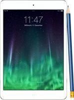 Apple iPad mini Retina Wi-Fi 16GB iOS silber