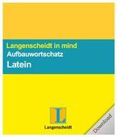 Langenscheidt in mind - Aufbauwortschatz Latein Win DE