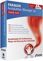 Paragon Festplatten Manager 14 Family Suite Win DE
