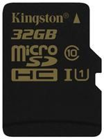 Kingston microSDHC C10 UHS-I 32GB inkl. Adapter