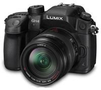 Panasonic Lumix DMC-GH4 inkl. 12-35mm / f 2.8 Power OIS, Schwarz (DMC-GH4AEG-K)