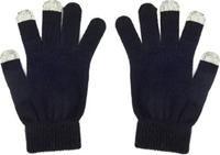 Touchscreen Wollhandschuh schwarz