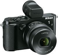 Nikon 1 V3 Kit 10-30 PDZ inkl. EVF und Handgriff