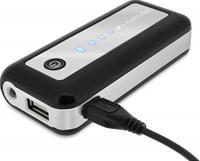 runtastic USB Power Bank 5600mAh Notfallakku mit Taschenlampe