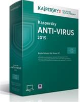 Kaspersky Anti-Virus 2015 Upgrade Win DE