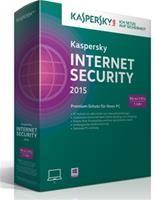 Kaspersky Internet Security 2015 3 User Win DE