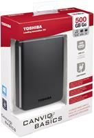 Toshiba Canvio Basics 2.5' USB3.0 500GB