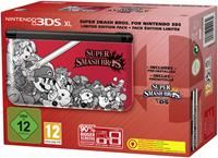 Nintendo 3DS XL Super Smash Bros. Limited Edition rot