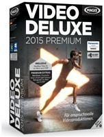 MAGIX Video deluxe 2015 Premium Win DVD DE-Version
