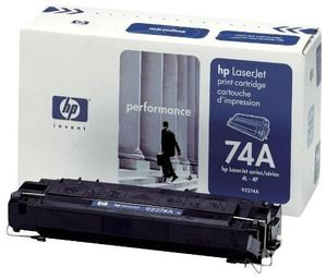 HP 92274A Toner Schwarz (Article no. 90018575) - Picture #1