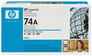HP 92274A Toner Schwarz (Article no. 90018575) - Picture #2