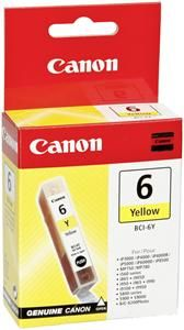 Canon BCI-6Y Tinte Gelb (Article no. 90035933) - Picture #1